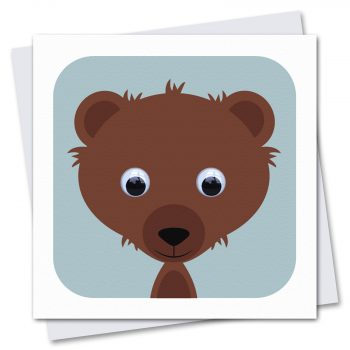 074-Bernard-Bear-Blue-Children's-Birthday-CArd-by-Stripey-Cats