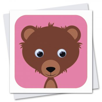 074-Brenda-Bear-Pink-Children's-birthday-card-by-Stripey-Cats