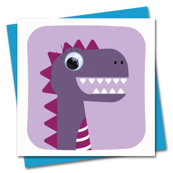 179-Dinosaur-Debs-Birthday-Card-Stripey-Cats