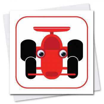 404-Ralph-Racing-Car-Childrens-birthday-card-by-Stripey-Cats