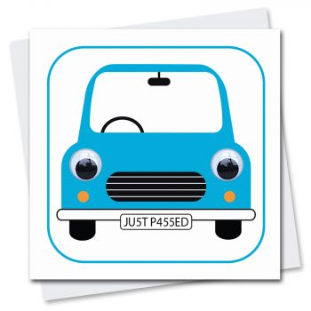 409-Carwyn-Car-Learner-Driver-Just-Passed-Greetings-Card