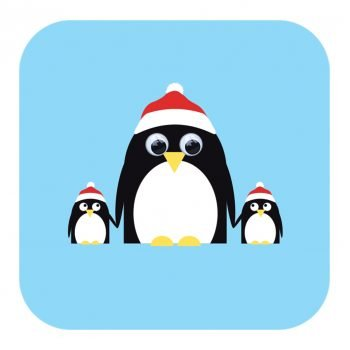 Penguin-Christmas-Card