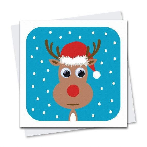 504-Rudolf-Reindeer-Wobbly-eyed-Christmas-Card-by-Stripey-Cats