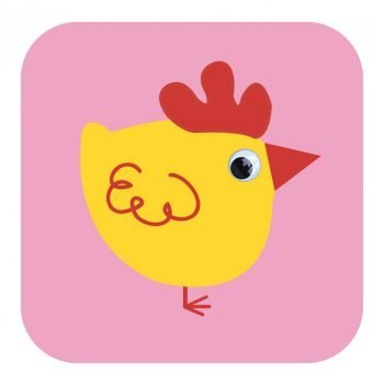 Stripey-cats-008-Chicken-George-Card