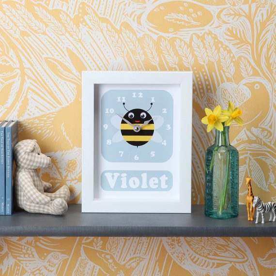 Stripey-cats-Bee-Clock