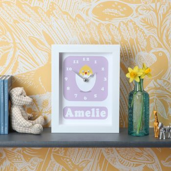 stripey-cats-personalised-chick-clock