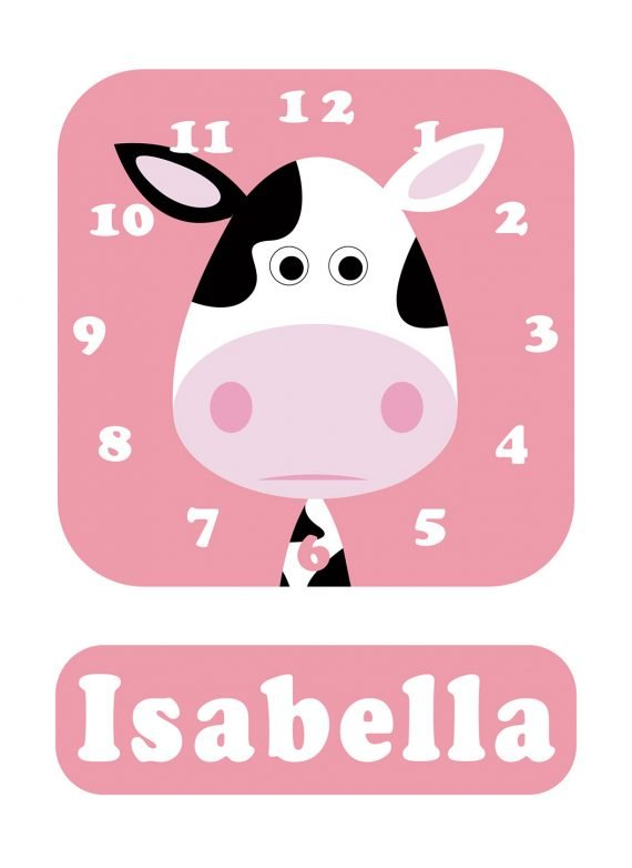 Stripey-cats-Cow-Clock-Pink-01