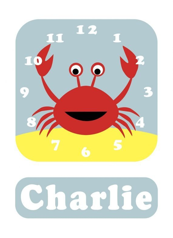 Stripey-cats-Crab-Clock-Blue-01
