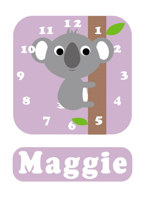 Stripey-cats-Koala-Clock-Lilac-01