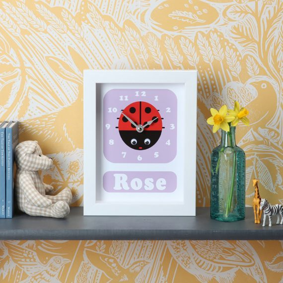 Stripey-cats-Ladybird-clock