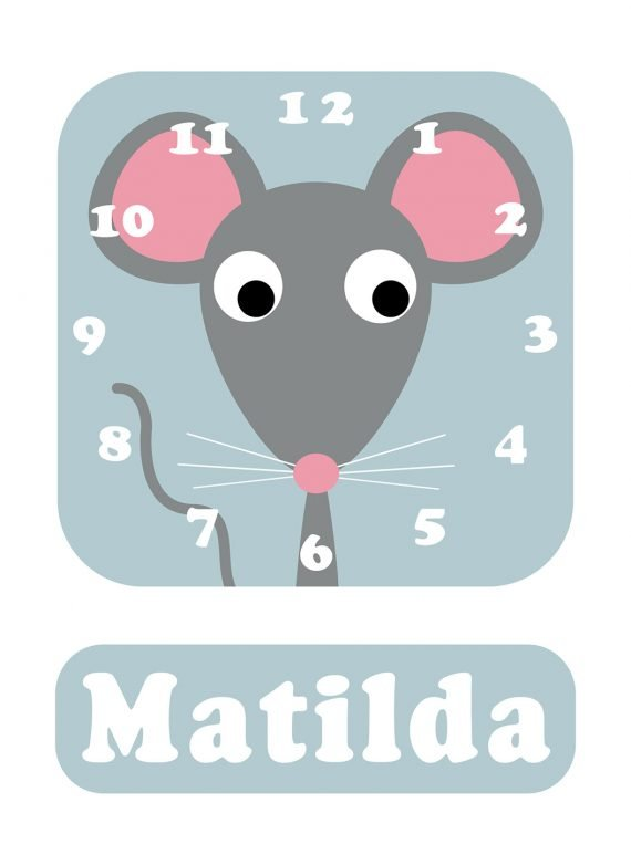 Stripey-cats-Mouse-Clock-Blue-01