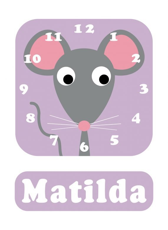 Stripey-cats-Mouse-Clock-Lilac-01