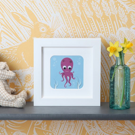 Stripey-cats-Octopus-Frame