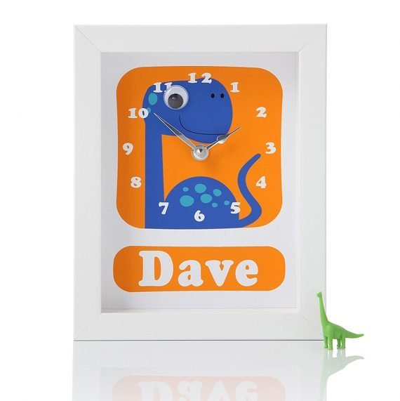 Stripey-cats-Personalised-Dinosaur-Clock-Dave