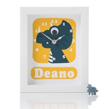 Stripey-cats-Personalised-Dinosaur-Clock-Deano
