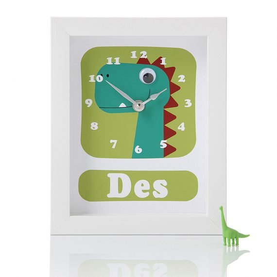 Stripey-cats-Personalised-Dinosaur-Clock-Des