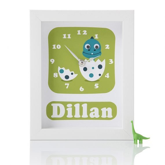 Stripey-cats-Personalised-Dinosaur-Clock-Dylan