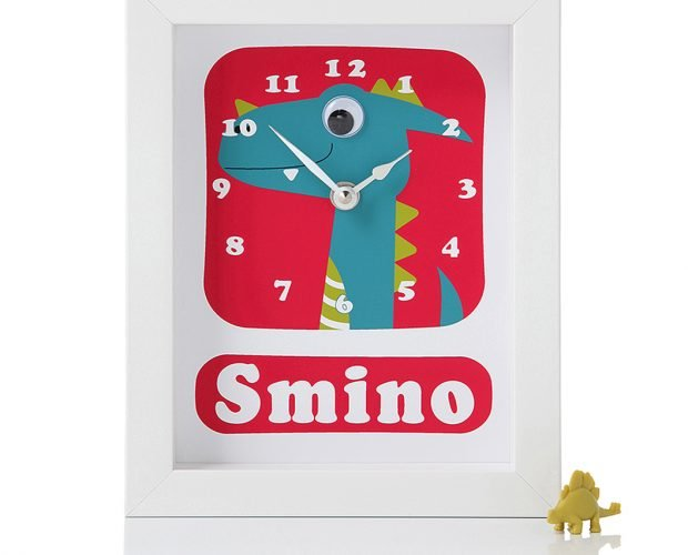 Stripey-cats-Personalised-Dinosaur-Clock-Smino