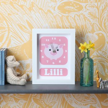 stripey-cats-personalised-pig-clock