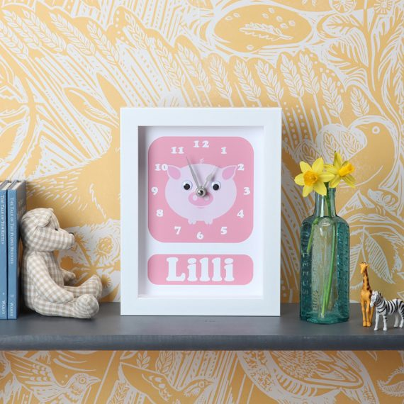 Stripey-cats-Pig-Clock