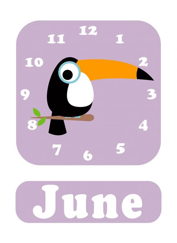 Stripey-cats-Toucan-Clock-Lilac-01