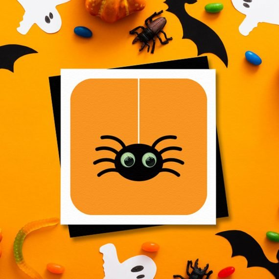 Halloween-Party-Card-Invitation-Spider-by-Stripey-Cats