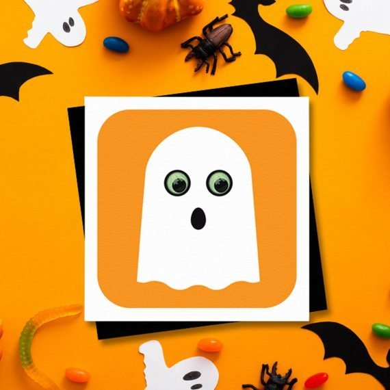 Halloween-Party-Invitation-card-Ghost-by-Stripey-Cats