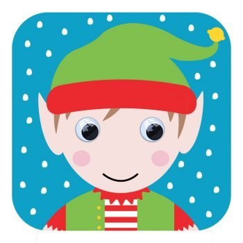 stripey-cats-cards-523-Eddie-Elf