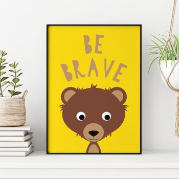 stripey-cats-be-brave-bear-print
