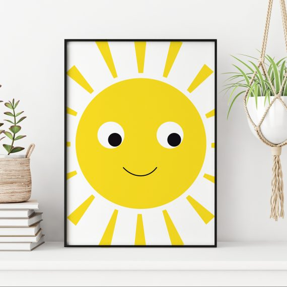 Sunshine Nursery Print
