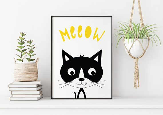 Monochrome Animal Prints By Stripey Cats
