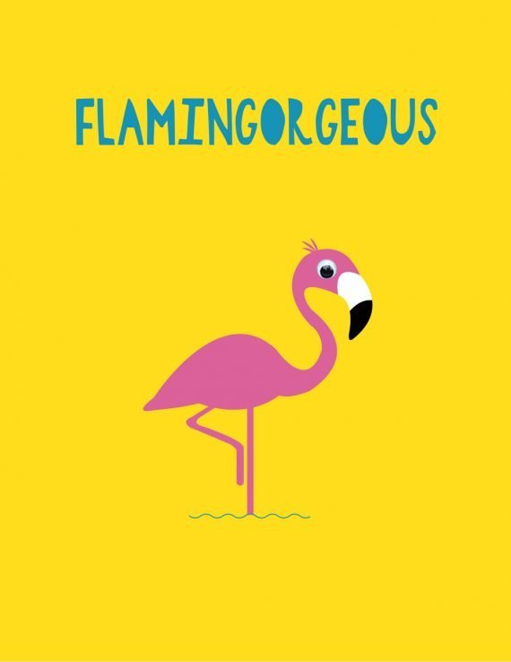 Valentines-645-Flamingorgeous-Flamingo-Card