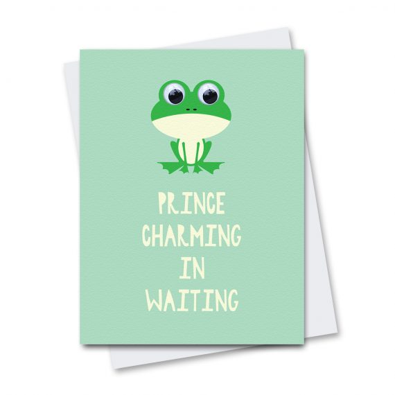 643 Prince-Charming-Frog-Birthday-Card