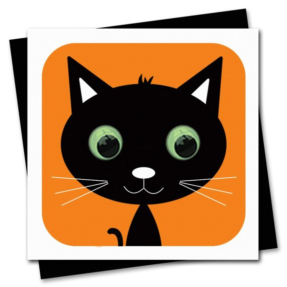 673-Bella-Black-Cat-Childrens-Halloween-Card-by-Stripey-Cats