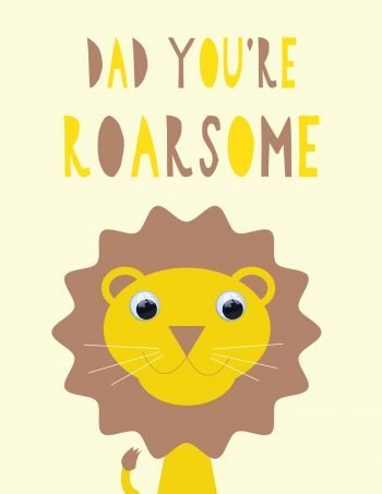 stripey-cats-fathers-day-card-roarsome-dad