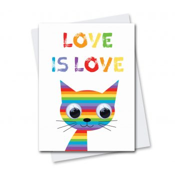 Rainbow-Cat-Love-is-Love-Card
