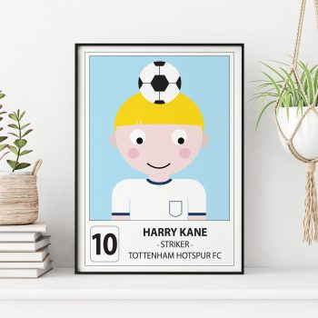 Personalised-Harry-Kane-Spurs-FC-Print