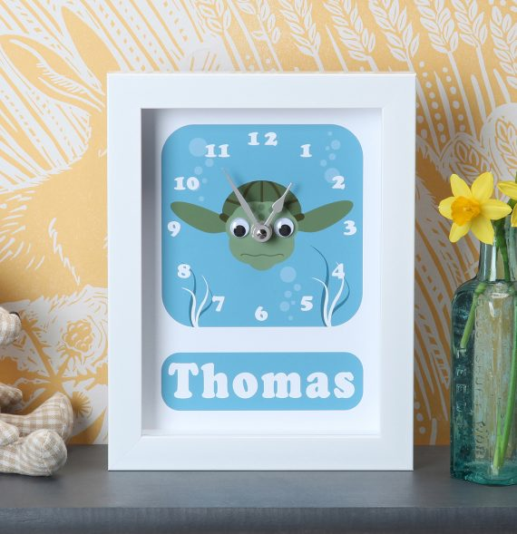 Personalised-Turtle-Clock