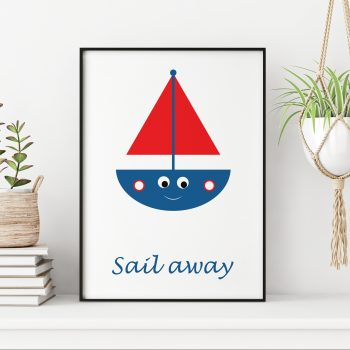 stripey-cats-childrens-boat-print-sail-away