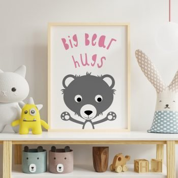 Bear-Hugs-Children's-Print