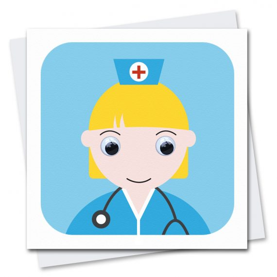 Nurse-NHS-Thinking-Of-You-Card
