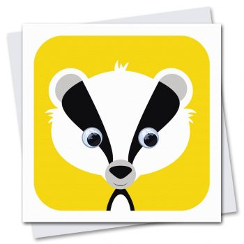 002-Brock-Badger-Children's-Birthday-Card-by-Stripey-Cats