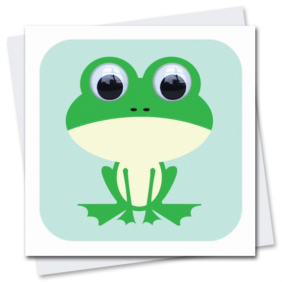 020-Francis-Frog-Blue-Children's-Birthday-Card-Stripey-Cats
