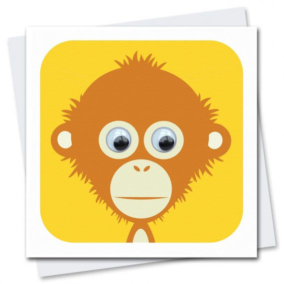 039-Ozzy-Orangutan-Children's-Birthday-Card-Stripey-Cats