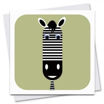 063-Zed-Zebra-sage-Green-Children's-Birthday-Card-by-Stripey-Cats