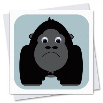 067-Gordon-Gorilla-Children's-Birthday-Card-by-Stripey-Cats