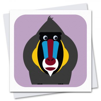 085-Maud-Mandrill-Children's-Birthday-Card-by-Stripey-Cats