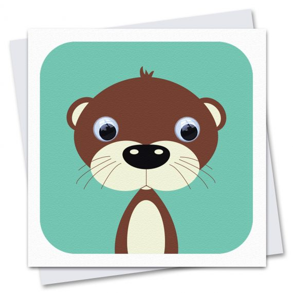 100-Olly-Otter-Childrens-Birthday-Card-by-Stripey-Cats