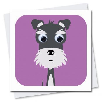 239-Shamus-Schnauzer-Children's-Birthday-Dog-Card-Stripey-Cats