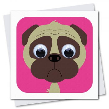 242-Doug-Pug-Dog-Childrens-Birthday-Card-by-Stripey-Cats